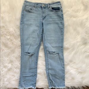 Cropped altard state jeans